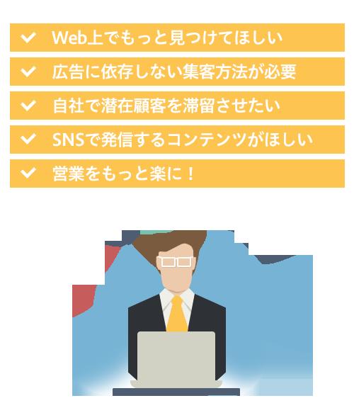 Webマーケテインングの課題