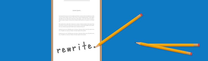 記事の修正方法と判断基準